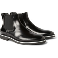 Tod's No_Code Crepe-Sole Leather Chelsea Boots | MR PORTER