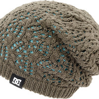 DC Girls Zina Grey & Mint Reversible Beanie