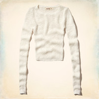 Old Town Slim Crop Sweater