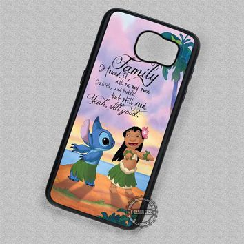Lilo and Stitch Best Friends Hawaii Quote - Samsung Galaxy S7 S6 S5 Note 7 Cases & Covers
