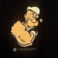 New Popeye T-Shirt Size XL  Popeye The Sailor Man FREE SHIPPING!!!!