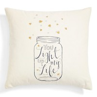 Nordstrom at Home 'You Light Up My Life' Accent Pillow