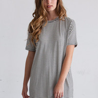 Angela Striped T-Shirt Dress