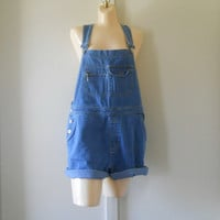 Women Overalls Womens Shortalls Denim Shortalls Denim Overall Shorts Denim Bib Overalls 90s Overalls Blue Jean Overalls Swimsuit Cover Up