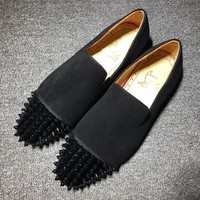 Cl Christian Louboutin Loafer Style #2336 Sneakers Fashion Shoes - Best Deal Online