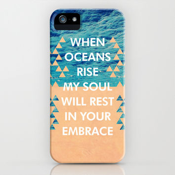 Oceans (Where Feet May Fail) iPhone & iPod Case by The Worship Project