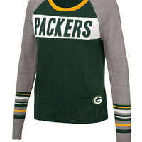 Touch By Alyssa Milano Women's Green Bay Packers Team Spirit Sweater | macys.com