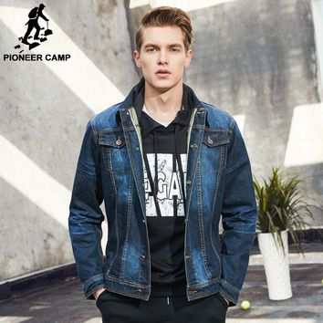 Pioneer Camp Classic Denim Men's Casual Jean Jacket/Coat