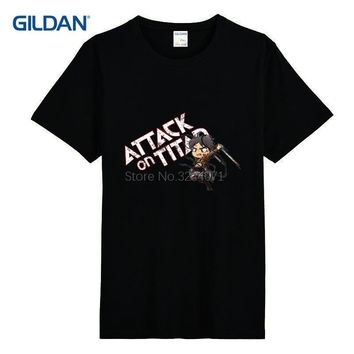 Cool Attack on Titan Customized 3xl Men T Shirt Chibi  Nice T-Shirt For Men Casual Fitness Funny Tee Shirt Plus Size 3xl Gildan AT_90_11