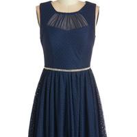ModCloth Sleeveless A-line Pause for Celebration Dress