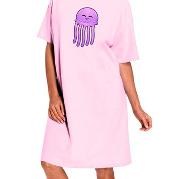 Cute Jellyfish Adult Wear Around Night Shirt and Dress by TooLoud