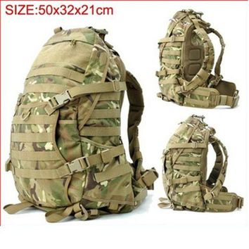 ONETOW Military Camouflage tactical assault backpack Molle Airsoft Hunting Camping Survival Outdoor Sports hiking trips climbing bags