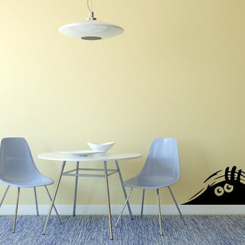 Cute Monster Nursery Wall Decal Made To order Fast Production Shipping within 24 hours...Several Color Opt