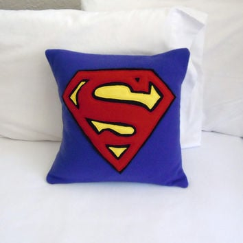 Superman Fleece Pillow, DC Comics