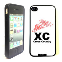 SudysAccessories Runner Running Cross Country Xc Thinshell Case Protective iPhone 4 Case iPhone 4S Case