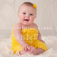 The Original Toddler Petti Romper in 21 color by by chicbabyrose