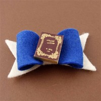 Belle's Book Hair Bow - Spiffing Jewelry