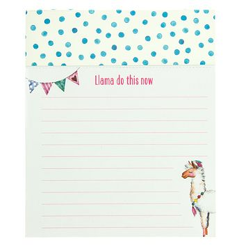 LLama Do This Now Jotter Notepad
