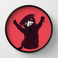 Hug Wall Clock by Huebucket