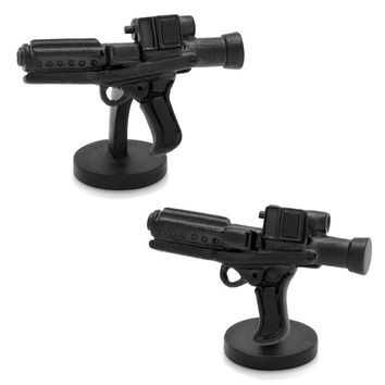 Star Wars Storm Trooper Blaster Cuff Links (Black)