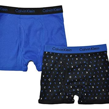 Calvin Klein Boys' Assorted Boxer Briefs (Pack of 2)