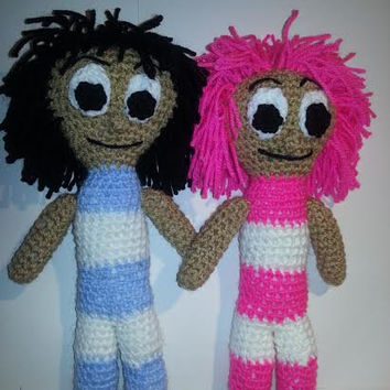 Crochet Toy, Stuffed Toy, Stuffed Doll