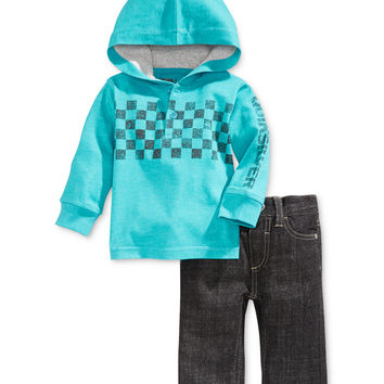 Quiksilver Baby Boys' 2-Piece Hoodie & Jeans Set