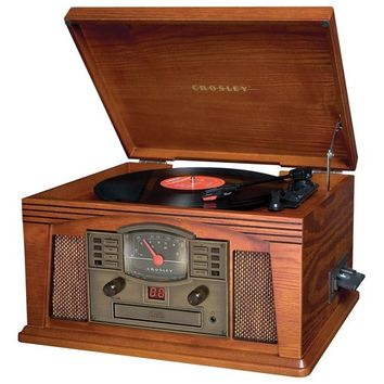 Crosley - 4-In-1 Paprika Record Turntable - Brown