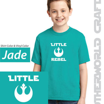 LITTLE REBEL - Youth Shirt - Star Wars