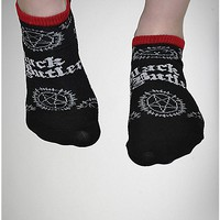 Black Butler 5 Pack Unisex Socks - Spencer's