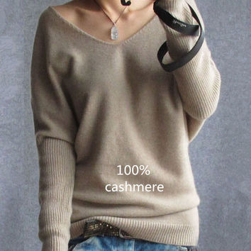 Winter cashmere sweater