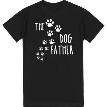 The DogFather with Puppy Tracks Father's Day