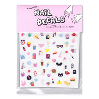 Sara M. Lyons Cute & Sleazy Nail Decals