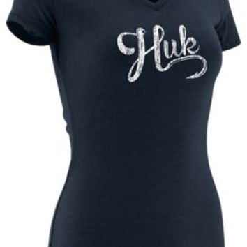 HUK Script V-Neck T-Shirt for Ladies | Bass Pro Shops