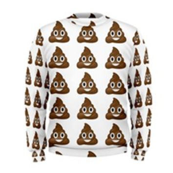 Poop Emojis Men's Sweatshirt