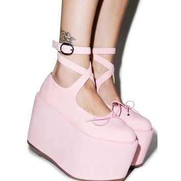 BALLET BOPPER BLUSH PLATFORMS