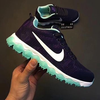 Nike Air Max Tail Wind Knitted net surface ventilation slow motion running shoes