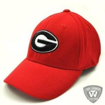ESBON Georgia Bulldogs UGA Hat One-Fit Top of the World Hat