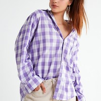 House Of Sunny 802 Gingham Button-Down Top | Urban Outfitters