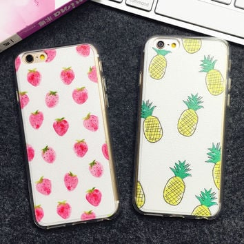 Pineapple Pattern Summer Fashion Style Lovely Women and Men Gift - Phone Case = 4697670340
