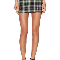 Lovers + Friends Good To Be Bad Mini Skirt in Plaid