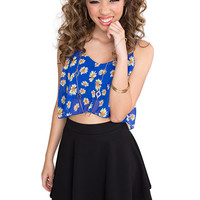 Demi High Waisted Skirt - Black