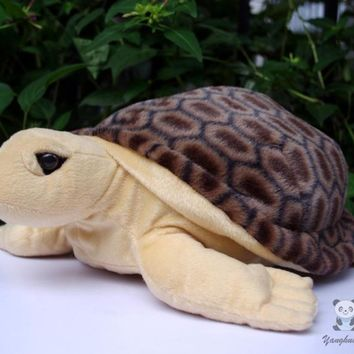 Sea Turtle Stuffed Animal Plush Toy 16""