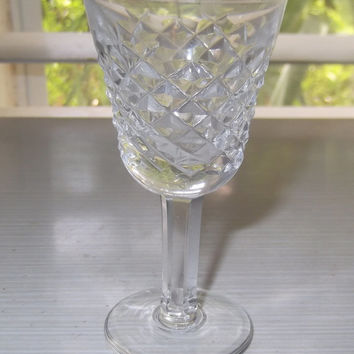 Waterford Crystal Alana Pattern Liqueur/Cordial Glass