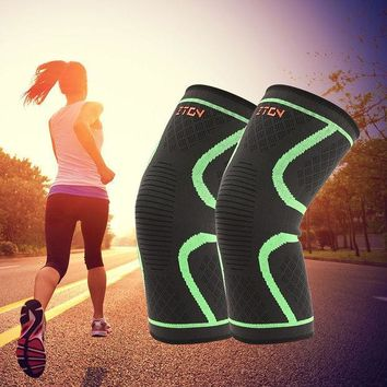 ICIKUH3 Breathable warmth Basketball Football sports safety Kneepad volleyball Knee Pads Training Elastic Knee Support knee protect 1PCS