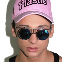 Plastic Dad Hat- Pink