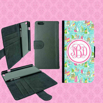 iPhone 6 Wallet Case , iPhone 6 Plus Wallet Case,Samsung Galaxy S5 Wallet Case,Galaxy Note 3 Wallet Case,Lilly Pulitzer Inspired iPhone Case