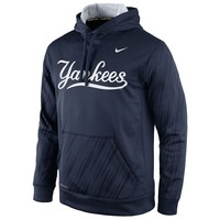 Nike New York Yankees KO Speed Logo Therma-FIT Performance Hoodie