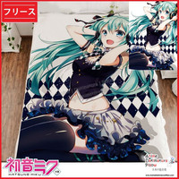 New Hatsune Miku - Vocaloid Japanese Anime Fleece Flannel Bed Throws GZFONG323