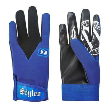 DCCK7G2 Motocycle fairing -Impact Wrestling The Phenomenal AJ Styles Blue gloves red/balck/gloves/Gold or gray Roman Reigns gloves